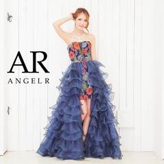 【P★10倍】[Angel R]花火プリントヌーディービジューインナーミニドレス[AR6228][送料無料]