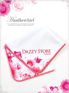 dazzystoreオリジナル薔薇柄タオルハンカチ