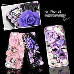 3DデコレーションiPhone6ケース