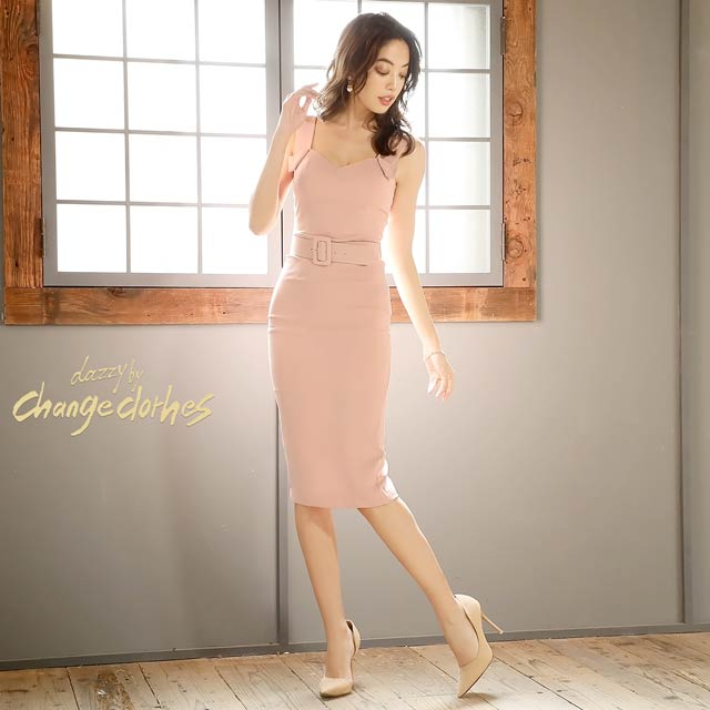 [S/Mサイズ]design shoulder dress -デザインショルダードレス-[2サイズ展開][送料無料][lunenoireedit]