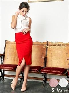 5/14UP[S/Mサイズ][2ピース]スカーフ風デザインノースリーブタイトミニドレス[2サイズ展開][送料無料][change clothes]