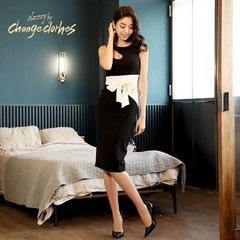 [S/Mサイズ]one cut dress -ワンカットドレス-[2サイズ展開][change clothes][送料無料]
