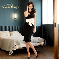 [S/Mサイズ]one cut dress -ワンカットドレス-[2サイズ展開][change clothes][送料無料][4/4再入荷]