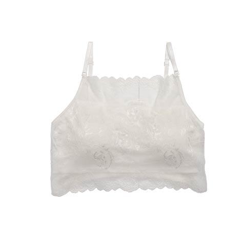 【明日花キララ着用】Flower Code Lace Bratop フラワーコードレースブラトップ[Whip Bunny](WHITE-M)