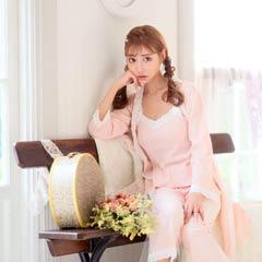 【明日花キララ着用】White Lace Rib Roomwear ホワイトレース付きリブ素材ルームウェア[Whip Bunny]