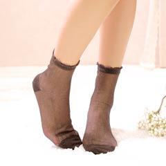 11/27新作!【明日花キララ着用/WhipBunny】Simple lame Socks シンプルラメソックス