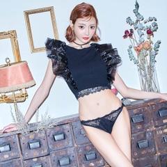 【明日花キララ着用】All Lace Sanitary Shorts /Black オールレースサニタリーショーツ ブラック[Whip Bunny]