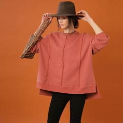 【thorio port House】Big silhouette pullover