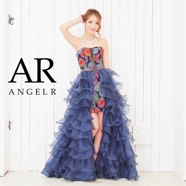 【P★10倍】[AngelR]花火プリントヌーディービジューインナーミニドレス[AR6228][送料無料]