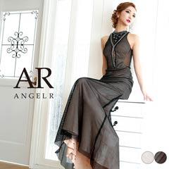【P★10倍】[AngelR]アメスリデザインカットロングドレス[AR8709][送料無料]