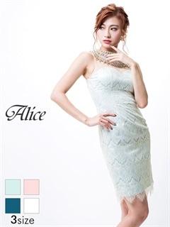 【P★10倍】[Alice]シアーデザインハイネックノースリタイトミニドレス[26007][送料無料]