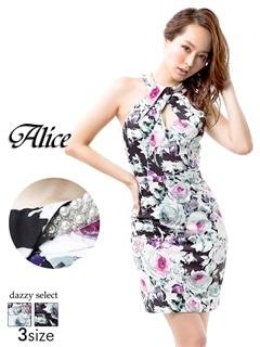 【P★10倍】[Alice][SMLサイズ]背中見せアメスリタイトミニドレス[3サイズ展開][52657]