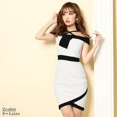 [SMLサイズ]Off-Shoulder Minidress[3サイズ展開]