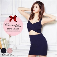 [SMLサイズ]Opencutout Minidress[3サイズ展開][6/18再入荷]