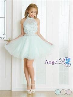 【P★10倍】[AngelR]アメスリAラインミニドレス[AR7608][送料無料]