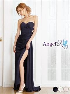 【P★10倍】[AngelR]スリット入りロングドレス[AR7214][送料無料]