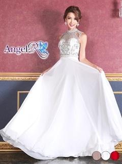 【P★10倍】[AngelR]アメスリ刺繍ビジュースレンダーラインロングドレス[AR7510][送料無料]