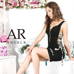 【P★10倍】[AngelR]スカーフ柄サイドシアータイトミニドレス[AR9328][送料無料]