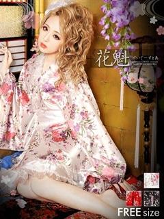 ◇dazzystore2017花魁◇乱れ牡丹の夜の宴レース刺繍でTOKYO江戸の花魁メイド♪振袖和柄着物風ミニドレス[24時間限定★まとめ割り]