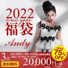 [2021年福袋]Andy福袋(ドレス3点入り/総額60000円~80000円相当)[送料無料]