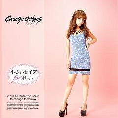 [XS/Sサイズ]星柄ストレッチタイトミニドレス[change clothes]