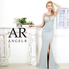 2/7UP【P★10倍】[AngelR]ノースリーブビジュータイトロングドレス[AR20308][送料無料]