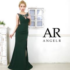 【P 10倍】[AngelR]レザーコードレースアップビジュータイトロングドレス[AR20310][送料無料]
