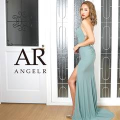 【P 10倍】[AngelR]バストビジュースリットタイトロングドレス[AR20214][送料無料]