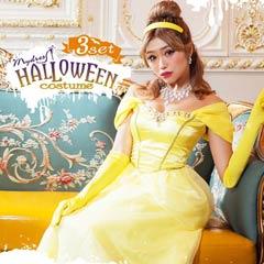 【3点SET】Halloweenプリンセス オフショル【2020ハロウィン/コスプレ】[送料無料]