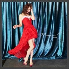 前ミニテールカットロングドレス[my dress]