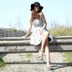 【30%OFF】[carbonii]総レース背中魅せAラインミニドレス[CA504-618]