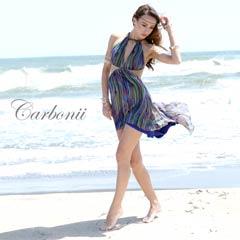 7/19UP[carbonii]アメスリ風テールカットAラインミニドレス[CA504-614]