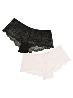 Naturally lace shorts