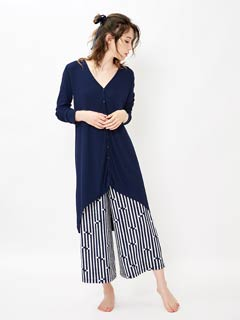 [CARRIEFRANCA]High gauge long cardigan