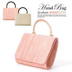 [全2色][2way]ワンカラーシンプルミニハンドバッグ