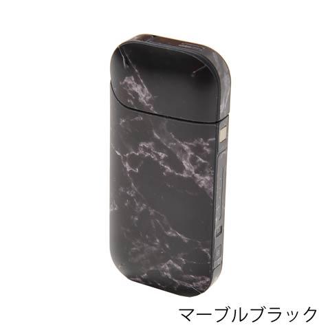 [全12色]iQOS skin seal アイコススキンシール(マーブルブラック)