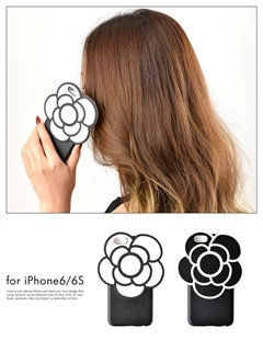 BIGカメリアモチーフ付きiPhone6S/iPhone6対応ケース