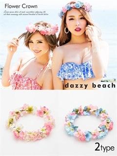 花冠 ヘッドドレス 【dazzy beach】