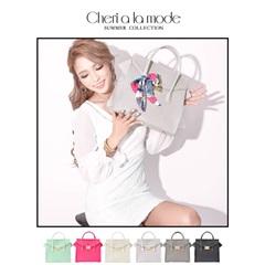 [dazzyオリジナル][Cheri a la mode]セリーヌ風シンプルハンドバッグ