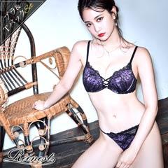 永尾まりや着用【Reinest】センシュアルラインブラジャー&バック透けTバックショーツ