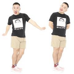 ゆっこママTシャツ ブラック