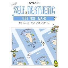 G9SKIN Self aesthetic soft footmask セルフエステティックソフト フットマスク