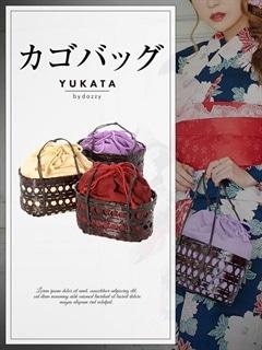 【予約販売/5月31日頃より順次発送予定】[全3色]浴衣用かご巾着バッグ[2018年新作/YUKATA by dazzy]【5/17予約販売開始】