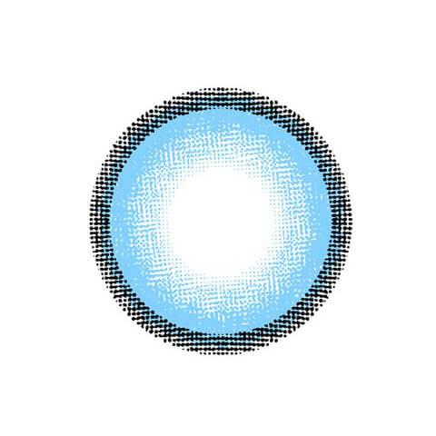 d-con ハイジェニック / カラコン 【1day/度あり・度なし/14.5mm】(アクアブルー(BLU)-0)