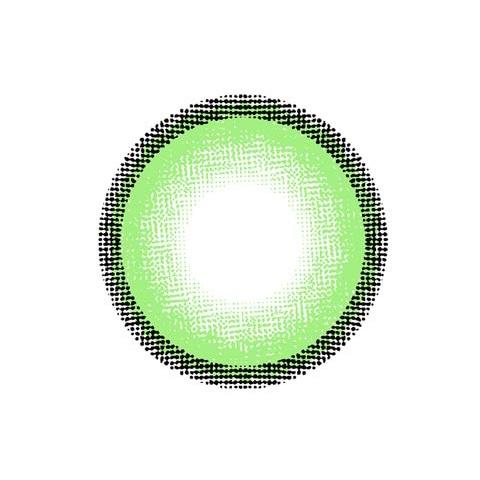 d-con ハイジェニック / カラコン 【1day/度あり・度なし/14.5mm】(ライムグリーン(MINT)-0)