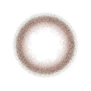 ゆうこすプロデュース Chu's me 1day チューズミーワンデー【1day/度あり・度なし/14.2mm】(ピーチブラウン-0.00)