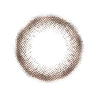 ゆうこすプロデュース Chu's me 1day チューズミーワンデー【1day/度あり・度なし/14.2mm】(チョコブラウン-0.00)