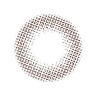 ゆうこすプロデュース Chu's me 1day チューズミーワンデー【1day/度あり・度なし/14.2mm】(ベイビーブラウン-0.00)