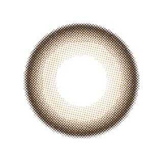 ゆうこすプロデュース Chu's me 1day チューズミーワンデー【1day/度あり・度なし/14.2mm】(モイストブラウン-0.00)