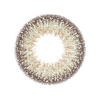 ゆうこすプロデュース Chu's me 1day チューズミーワンデー【1day/度あり・度なし/14.2mm】(ギャップブラウン-0.00)